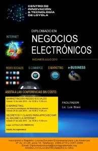 Conferencias Gratuitas – Diplomado en Negocios Electronicos – Guatemala