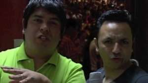 En backstage con Los Hijos del Santo – Ensancha 2011