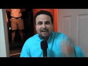 La palabra tocará tu vida – Entrevista en backstage a Otoniel Font (Ensancha 2011)