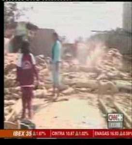 Terremoto, Sismo: Pisco, Ica, Nazca, Paracas, Chincha Peru – Reportaje CNN Espana