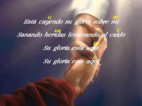 Letra & Acorde – Esta Cayendo Su Gloria Sobre Mi – Jose Luis Reyes – #cristianos #youtube #musicacristiana