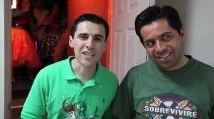 Pastores Steve y Hugo en Backstage – Ensancha 2011
