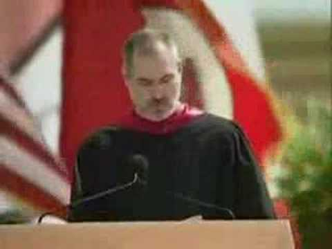 Steve Jobs – Discurso en la Universidad de Stanford – 1 de 2