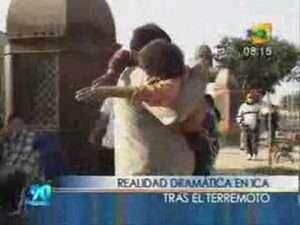 Video Terremoto Peru: Ica