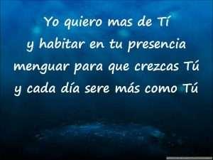 Yo quiero mas de ti – Gadiel Espinoza