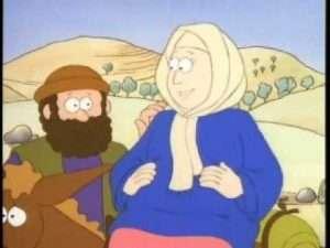 El nacimiento de Jesus – Dibujos animados