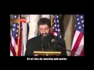 Advertencia divina,  Rabino en Capitolio de Estados Unidos