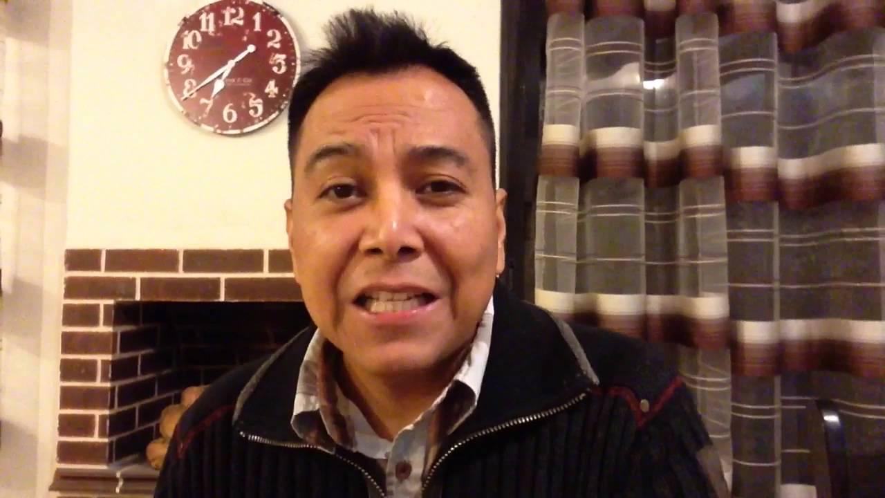 El hombre en crisis, saca lo que tiene adentro - Luis Bravo