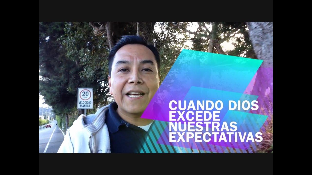 Photo of Cuando Dios excede nuestras expectativas – Luis Bravo