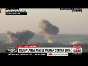 Trump lanza ataque militar en contra de Siria