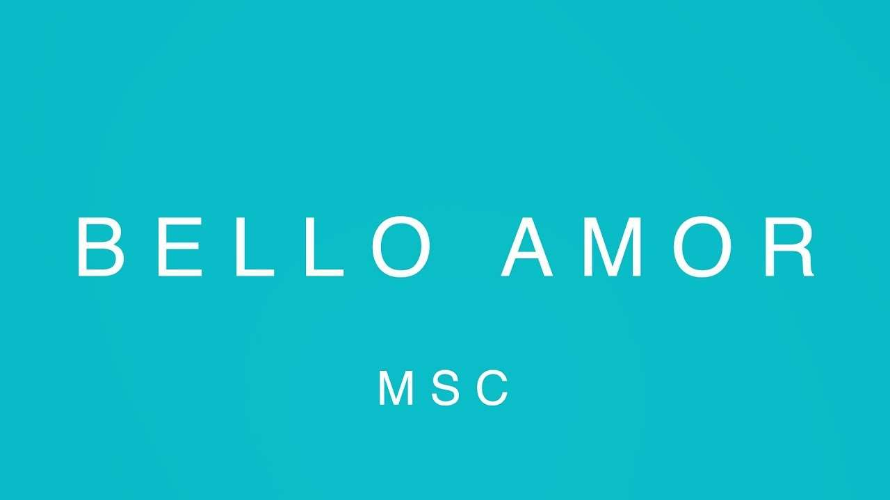 Bello Amor (Video Oficial Con Letras) – MOSAIC MSC