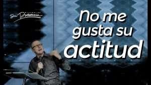 No me gusta su actitud – Andrés Corson