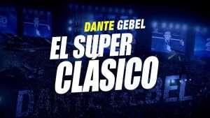 Dante Gebel, El Superclásico desde el estadio Cuscatlan en El Salvador