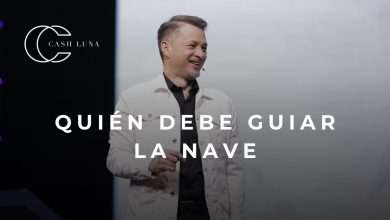 Photo of Pastor Cash Luna – ¿Quién debe guiar la nave?