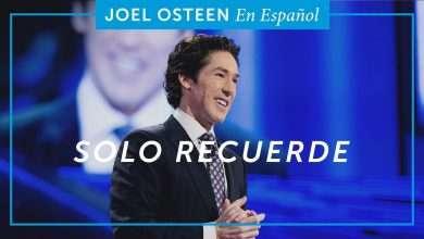 Photo of Solo Recuerde – Joel Osteen
