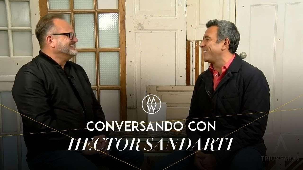 Marcos Witt conversa con Hector Sandarti