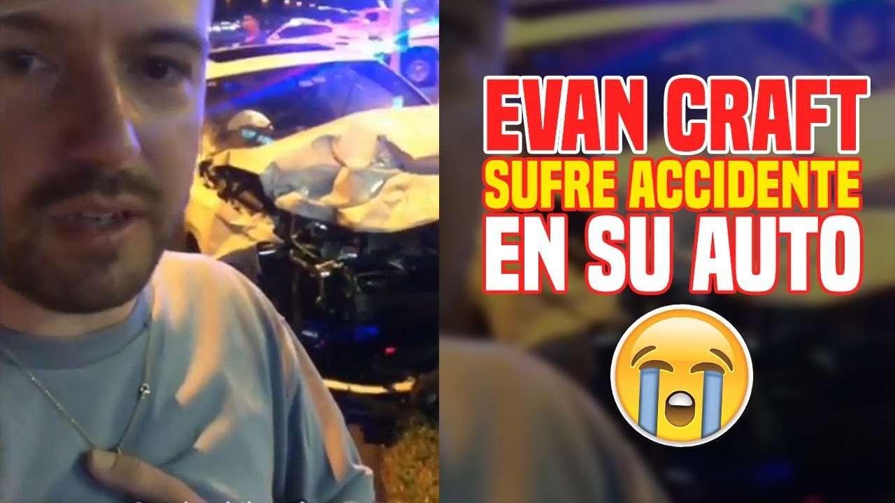 Mas detalles del accidente de auto de Evan Craft