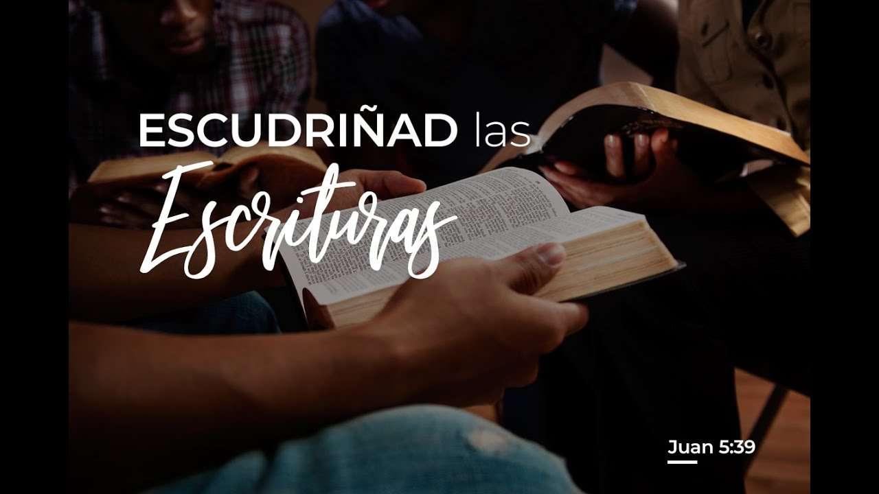 Escudriñad las escrituras – Nani y Luis Bravo